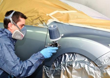 Mise en peinture auto à Tourcoing